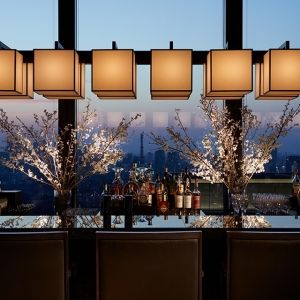 【東京】大人の夜は春爛漫なホテルラウンジでその0