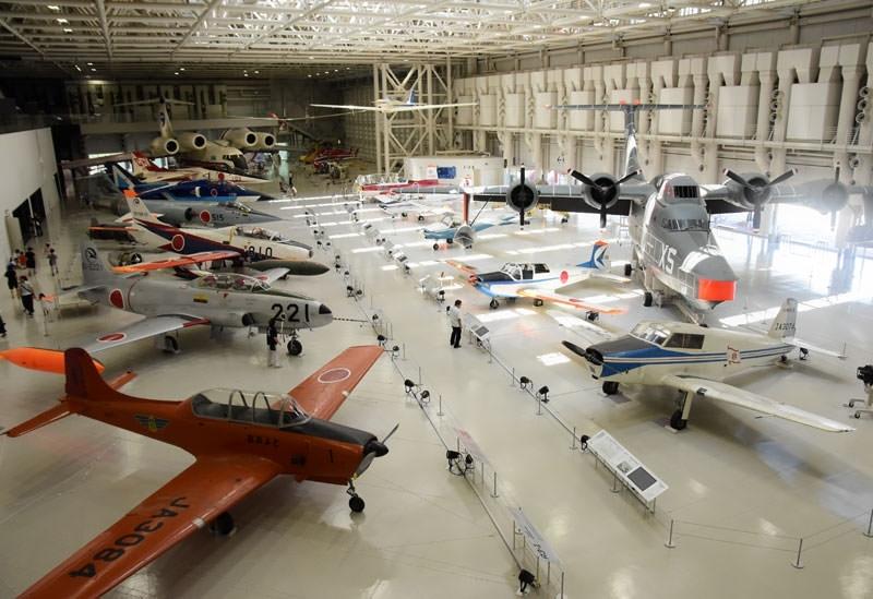 国内最大級の航空宇宙博物館