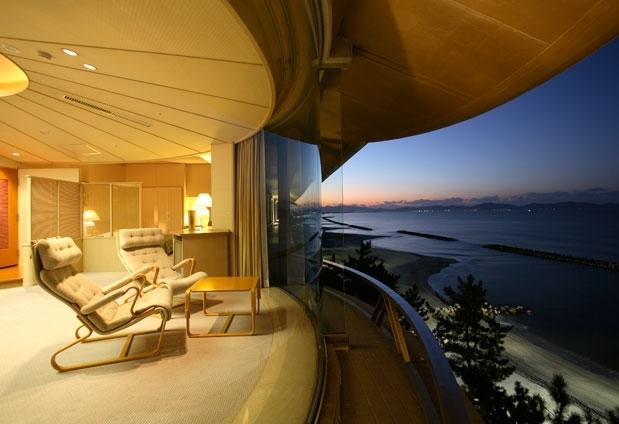 海が見える客室