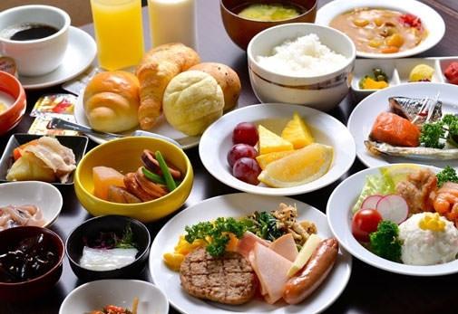 朝食ビュッフェもおすすめ!