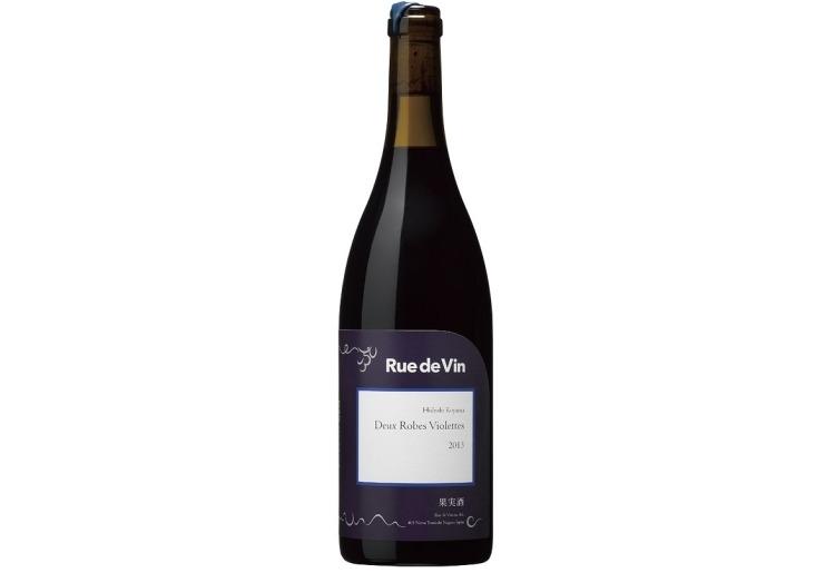 【赤ワイン】独自の配合が味の決め手「Deux Robes Violettes 2018」