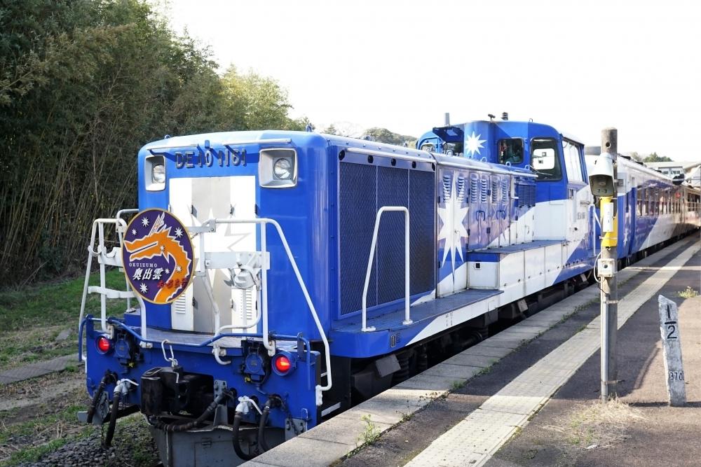 宍道駅から終着・備後落合駅を結ぶ観光列車「奥出雲おろち号」