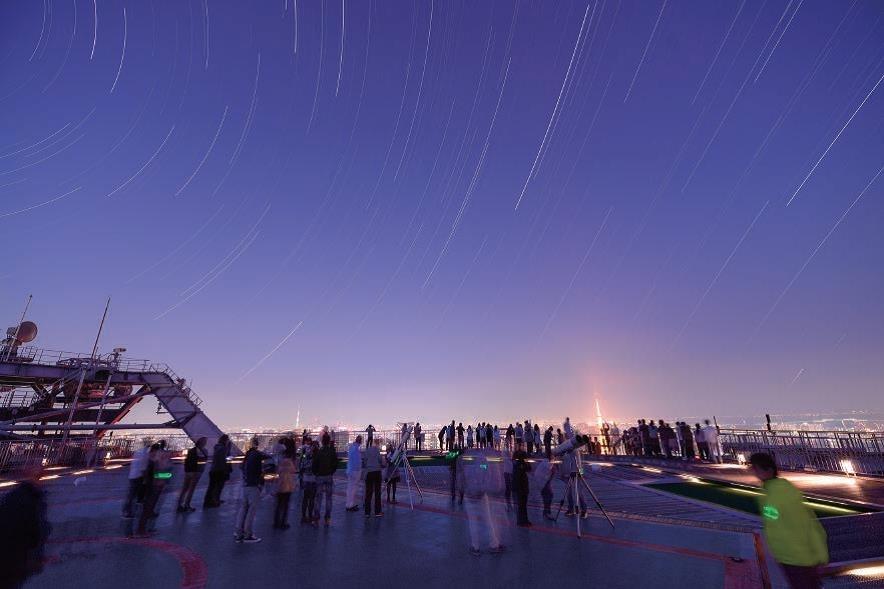 サプライズ④▶東京イチ近くの場所で流れ星を鑑賞できる!?