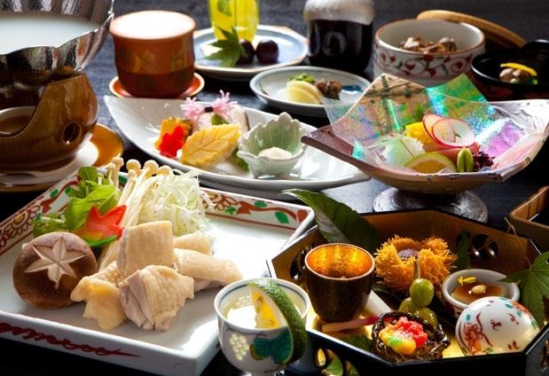 旬の食材をふんだんに使った創作日本料理にうっとり