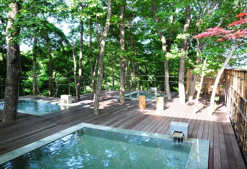 モダンな空間で名湯を堪能「竹泉荘 Mt.ZaoOnsenResort&Spa」