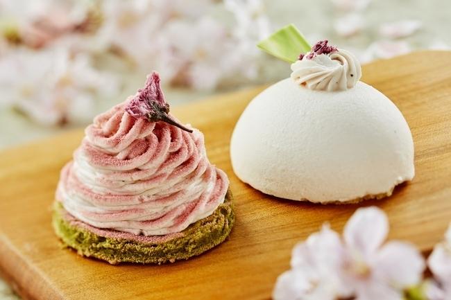 桜香る新作ケーキが登場! 春の味わいを楽しんで
