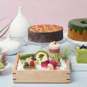 京都風景を一望できるレストランで宇治抹茶やほうじ茶スイーツを味わってみてはいかが?