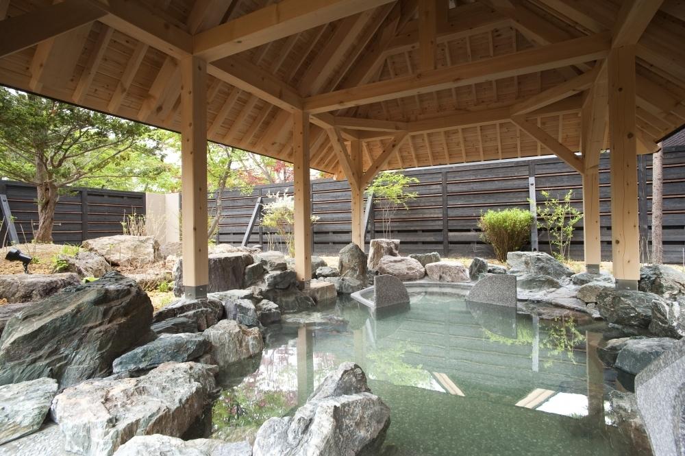 露天風呂は究極の安らぎの場