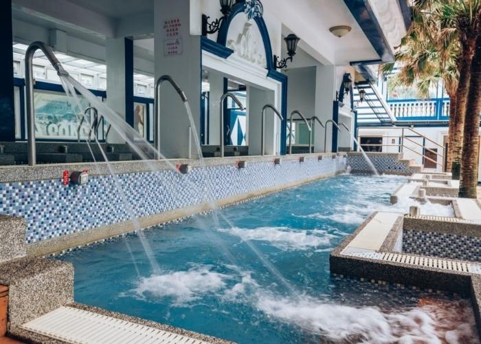 美肌効果抜群! 深海温泉でテルマリズム体験。