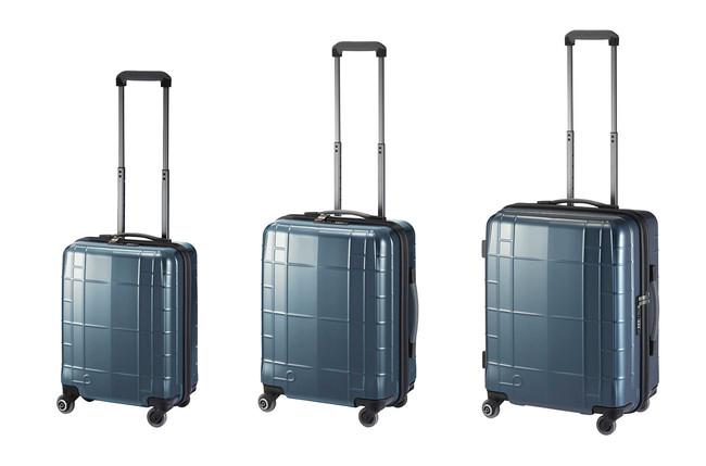 選べる3サイズ。抗菌・抗ウイルス仕様のスーツケース