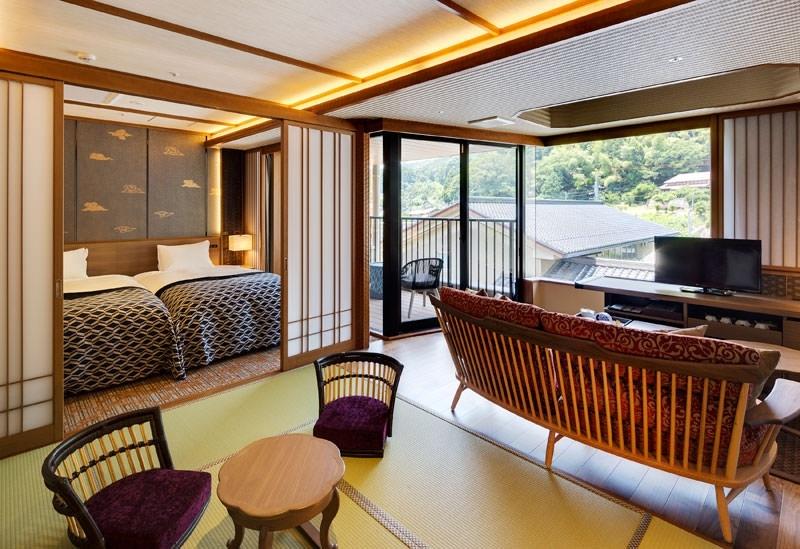 ゆとりある旅は宿選びも大切。島根旅で利用したい露天風呂付き客室は?その2