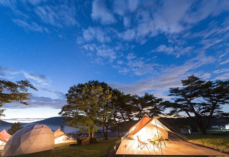 【関西】星降る高原キャンプ場