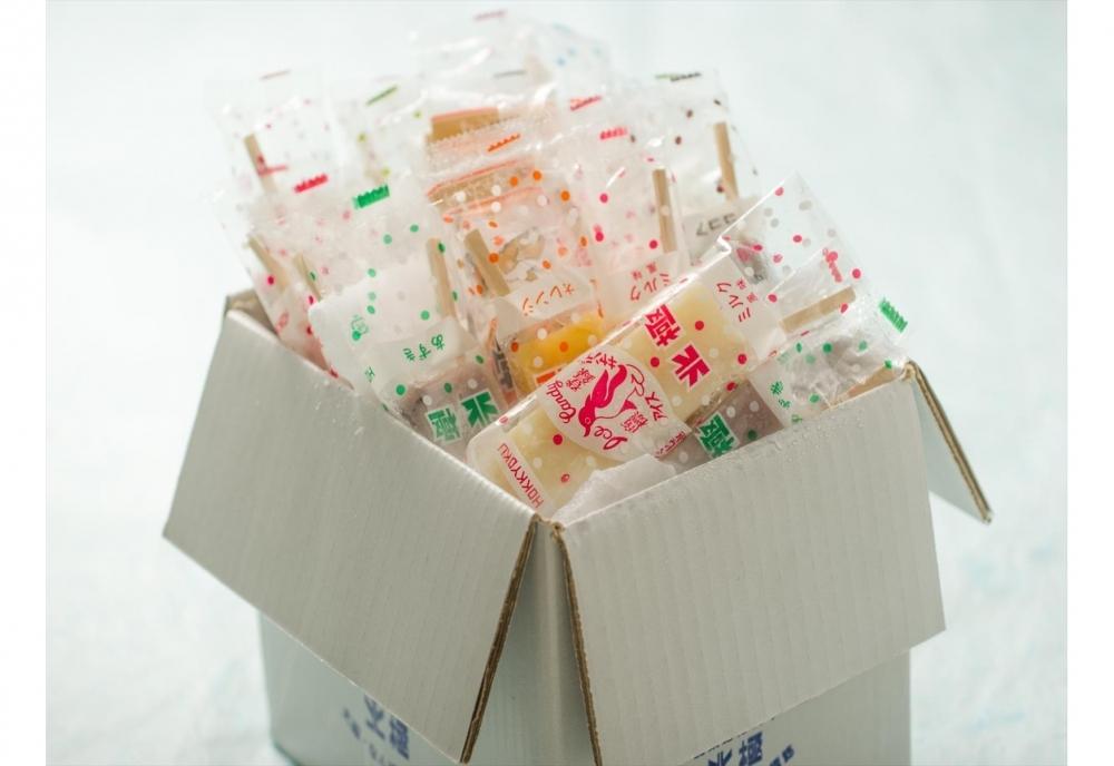 どこか懐かしい味の大阪名物・北極のアイスキャンデーの「おまかせ20本セット」