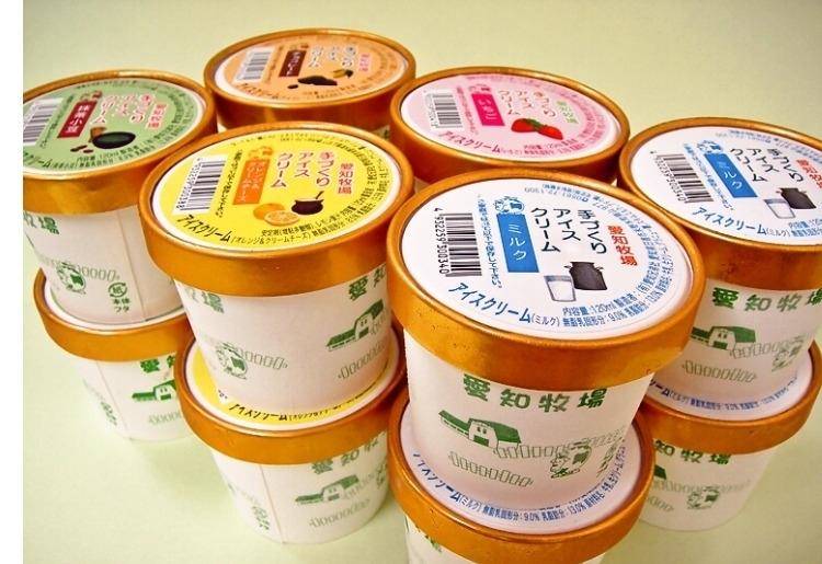 牧場で作られた本格アイス「ミルク村・アイスクリーム12個セット」