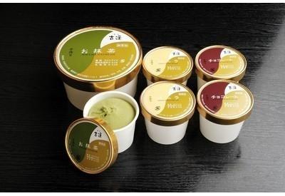 老舗茶房の無添加アイス「古蓮アイスクリームよくばりお試しセット」