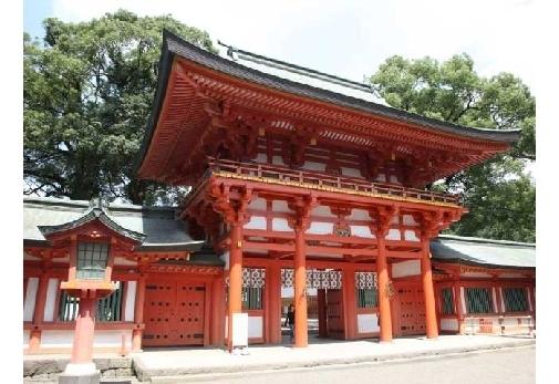 2,000年以上の歴史ある神社「氷川神社」