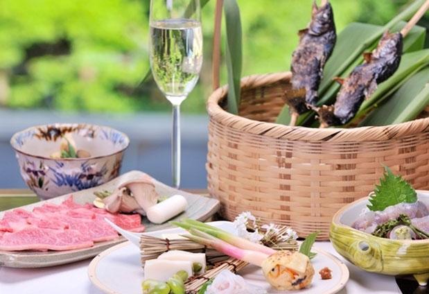 ソムリエの選ぶワインと夕食