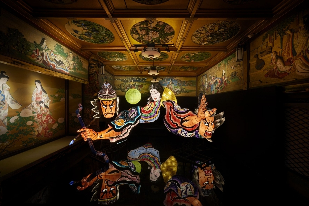 累計23万人動員!「ホテル雅叙園東京」で都内最大級のあかりアート展開催その1
