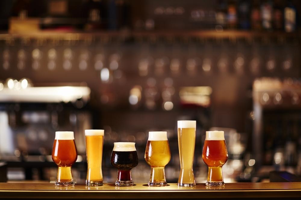 6種類のクラフトビール
