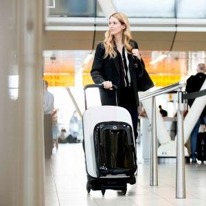 """スーツケースは新時代へ突入!「バガブー」の""""押して移動する""""トラベルアイテムとは"""
