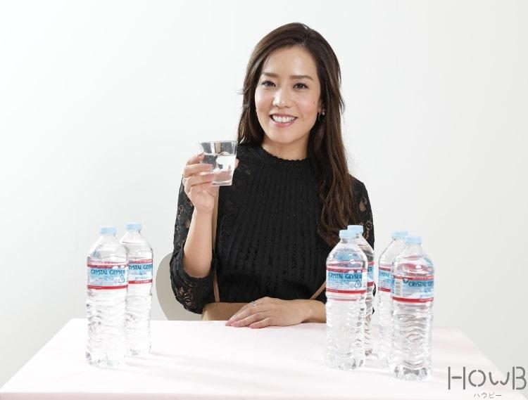 POINT.1 1日2ℓを目安に水を飲む!