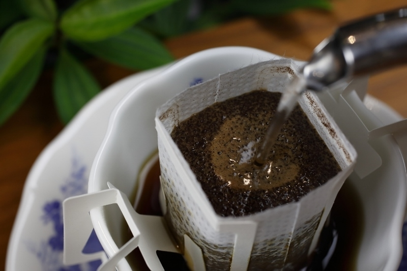 ドリップバッグコーヒーも登場