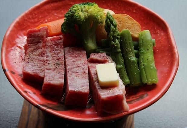 神奈川県にある湯河原温泉「旅館まんりょう」の魅力④選べるメイン料理