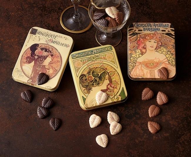 美しいパッケージが魅力「Chocolate Amatller(アマリエ)」