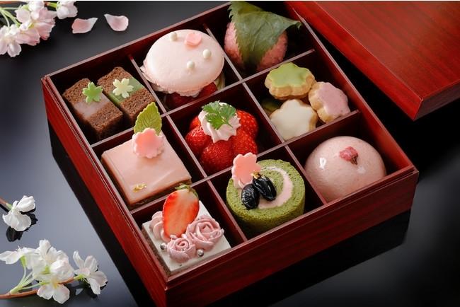 【ウェスティン都ホテル京都】9つの味を楽しめる「桜スイーツボックス」