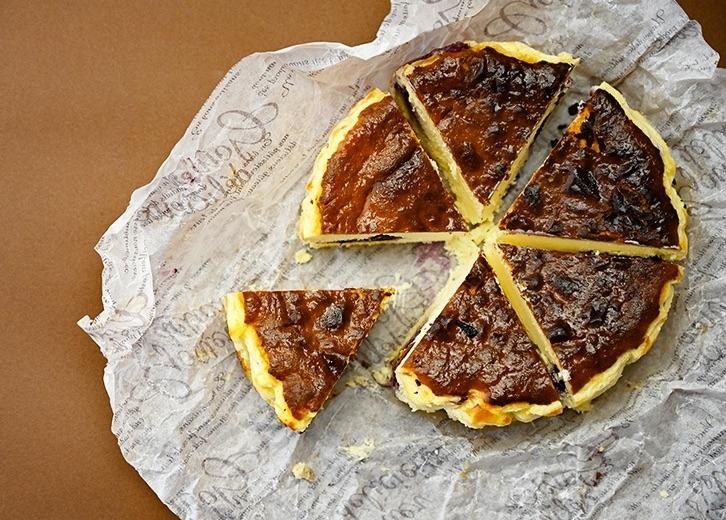 千葉素材×スペインの郷土菓子「バスクチーズバウム」