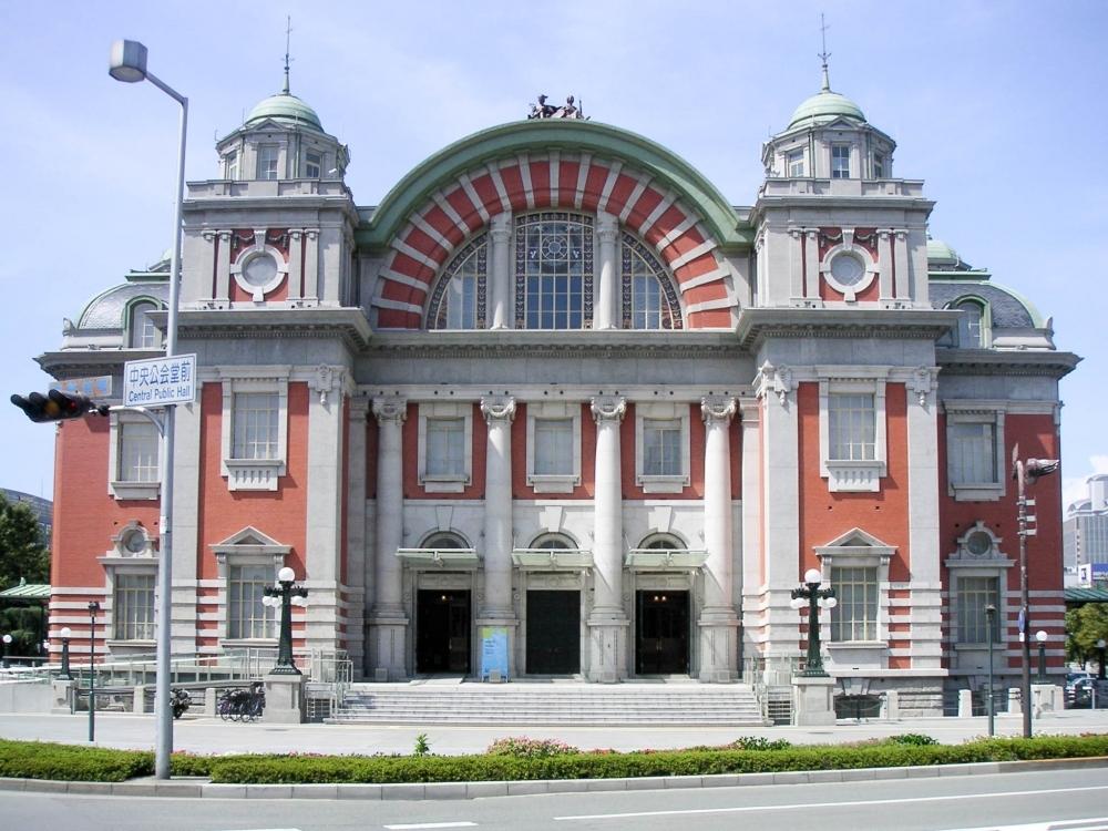 【3】若干29歳の建築家によるデザイン「大阪市中央公会堂」/岡田信一郎