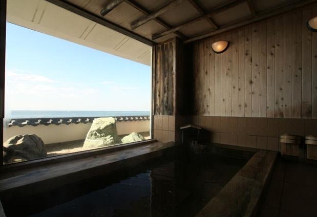 絶景を眺めながらの入浴