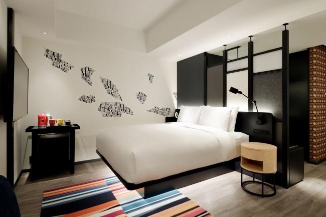 デザイン性の高い客室