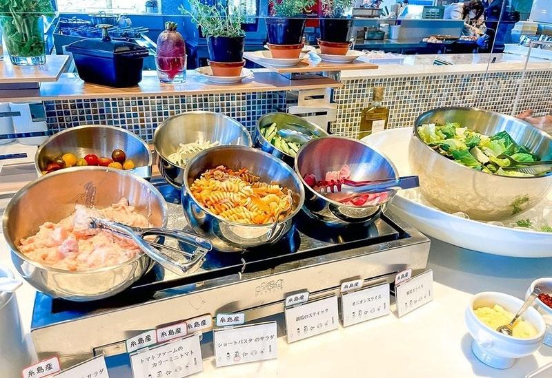 レストラン「太陽の皿」で糸島グルメに舌鼓
