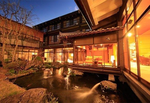石和温泉「くつろぎの邸 くにたち」の魅力➂四季折々の風景を楽しめる客室