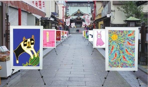 街全体が美術館。「アートパラ深川おしゃべりな芸術祭」が11月に開催【東京】