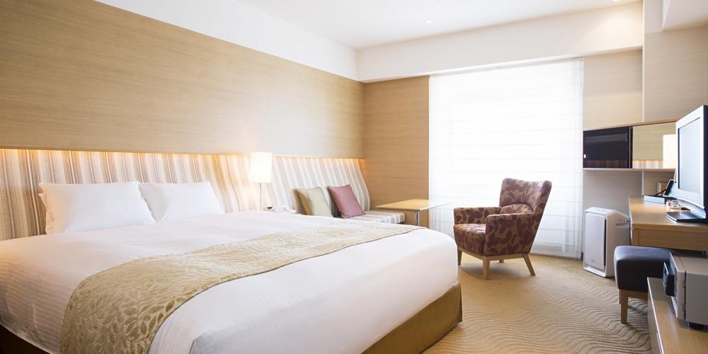 「ホテル日航関西空港」の魅力③バラエティ豊かな客室