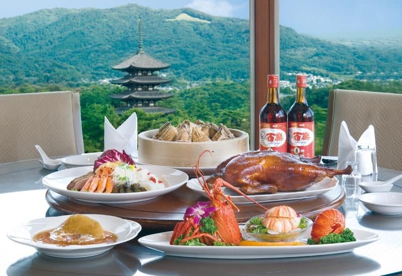 「北京料理 奈良百楽」でランチ