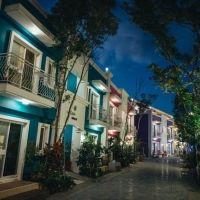 【台湾情報】カラフルな街並みは、まるでブラーノ島! SNS人気も高い墾丁の民宿に注目