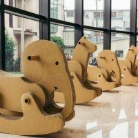 【台湾情報】モダンなロビーに段ボールの木馬!? 大人から子どもまで、皆がくつろぎ、笑顔になるホテルが宜蘭に誕生。