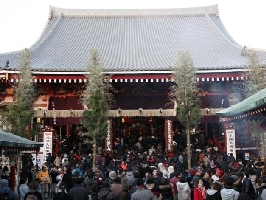 第4位:浅草寺・雷門