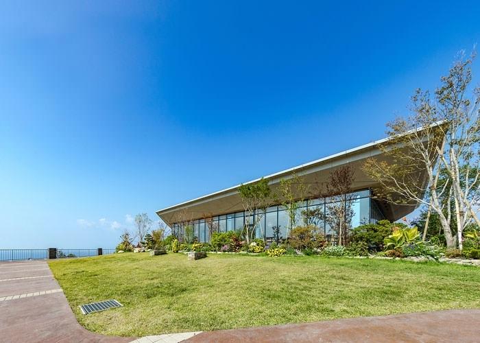 見所その④世界的に有名な庭園デザイナーが手がけた「緑風庭」
