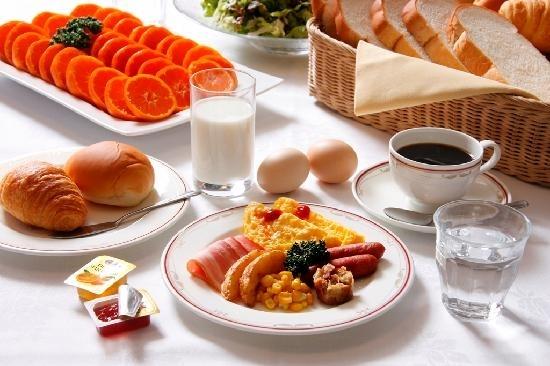 1日の始まりはしっかりとした朝食から!