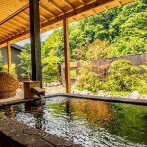 贅沢な湯浴みをお部屋で。露天風呂付き客室がある栃木のおすすめ宿4つその0
