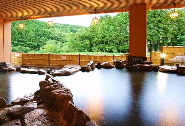 源泉かけ流しの温泉を楽しめる福島県の宿②くつろぎの宿 向瀧
