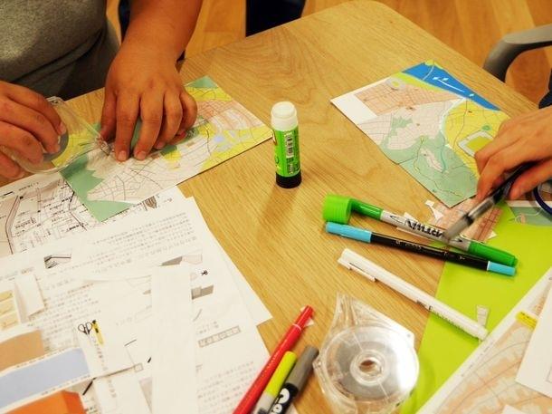空想地図を作るワークショップ