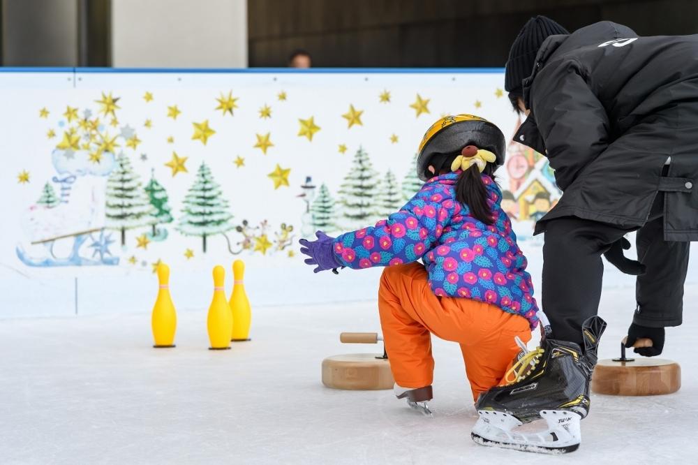 小さな子どもと一緒でも楽しめる「二子玉川ライズ スケートガーデン2019」