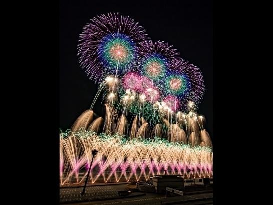 音と光のシンフォニー ツインリンクもてぎ 花火の祭典 20周年アニバーサリースペシャル