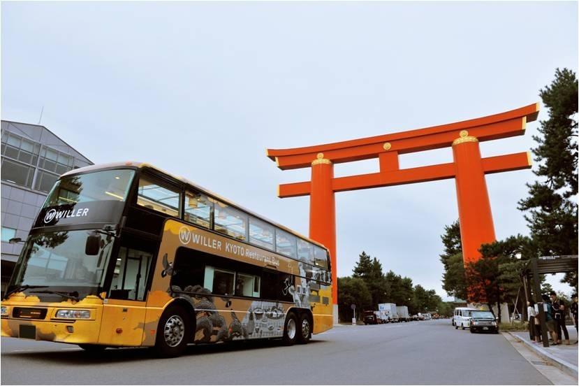 レストランバスで京都観光!走る「老舗料亭」が初の通年営業スタートその4