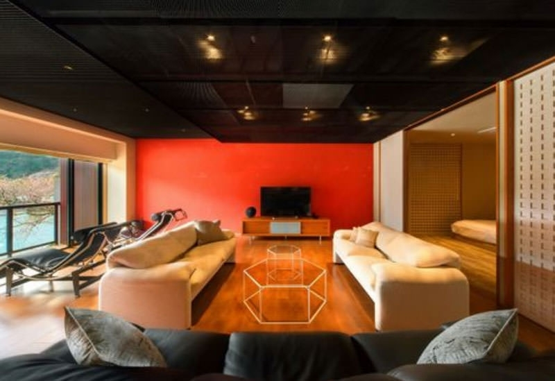 ひとつとして同じデザインのない客室